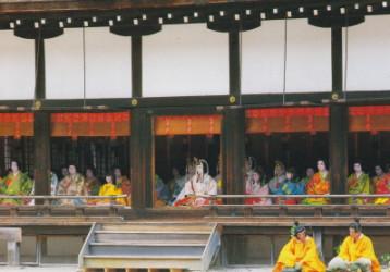 葵祭斎王代宮中の儀