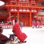 葵祭下鴨神社社頭の儀