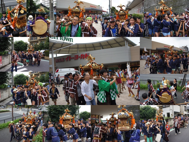 2015年9月6日(日)小豆澤神社例大祭・子ども神輿渡御