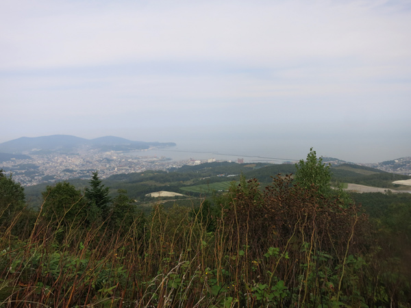 展望台 国道393 赤井川国道