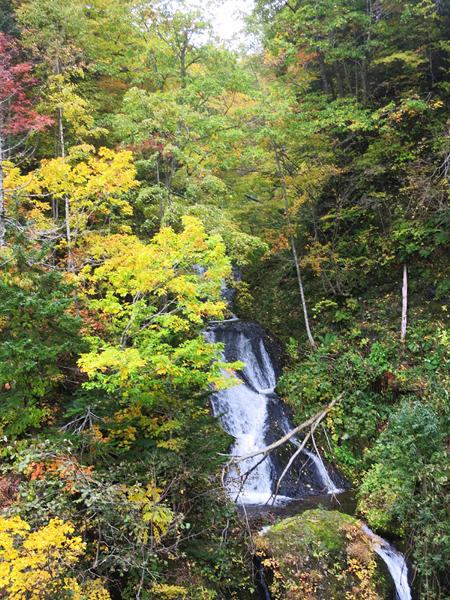 豊平峡 九段の滝