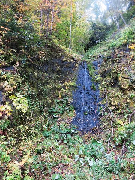 豊平峡 幻の滝