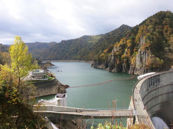 豊平峡ダム 定山湖 紅葉