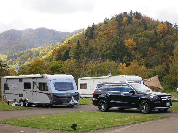 豊平峡温泉 オートキャンプ