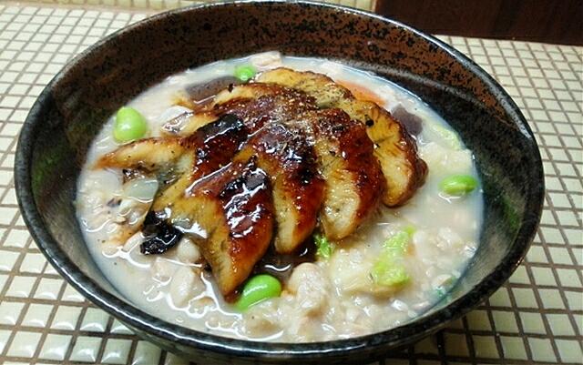 国産鰻の呉汁冷麺