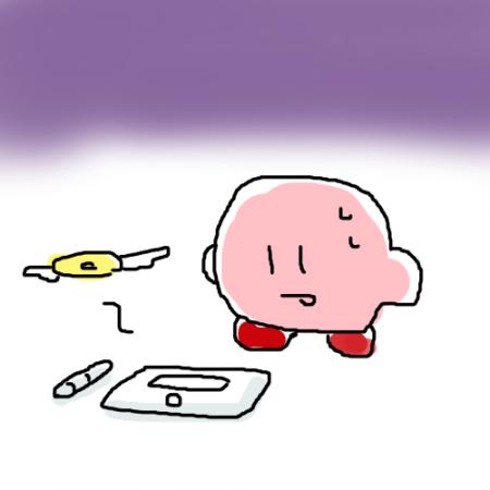 必死のマウス絵