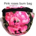 Pink roses bum bag (3)1
