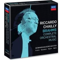 シャイーゲヴァントハウス ブラームス交響曲 管弦楽曲+協奏曲全集