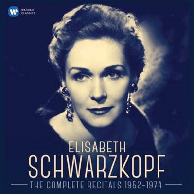 エリーザベト・シュヴァルツコップ リサイタル録音全集1952-1974