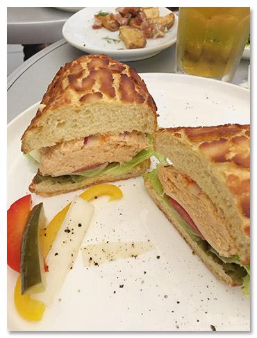 ダブルサンドイッチ