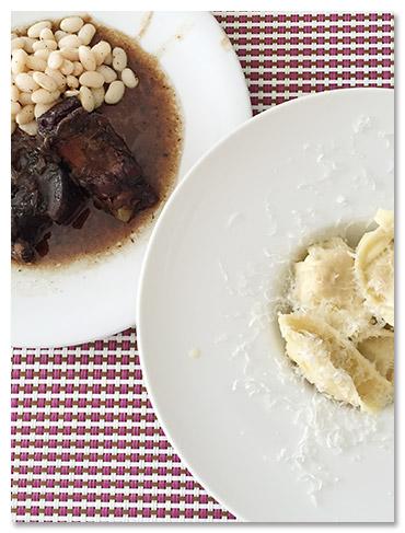 エミリアロマーニャのお料理
