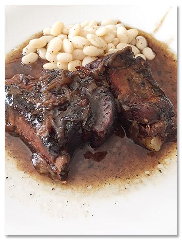 豚肉のバルサミコ煮