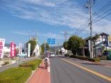 松本の市街地を走る