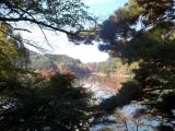 美鈴湖を通過