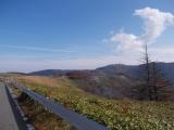 美ヶ原高原へ続く道