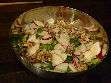 かぶとりんごのサラダ