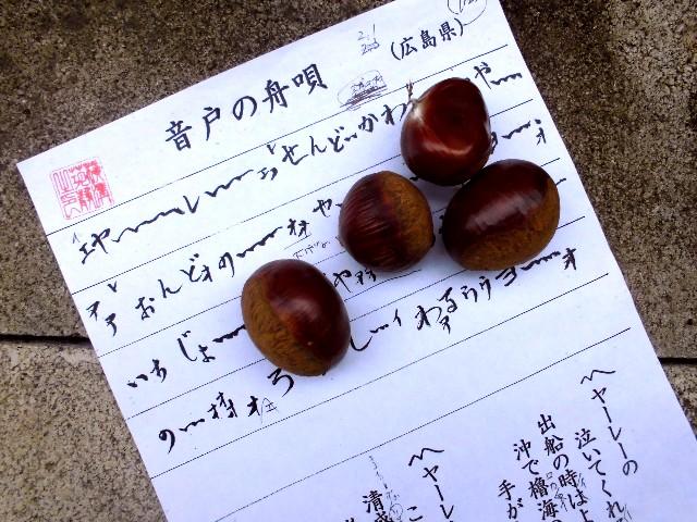 15.9.25民謡と栗 (3)
