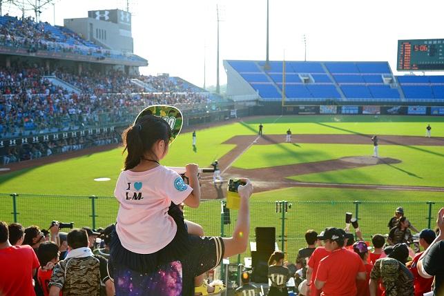 野球観戦(1)