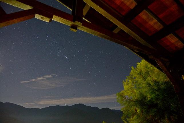 星と月の競演(3)