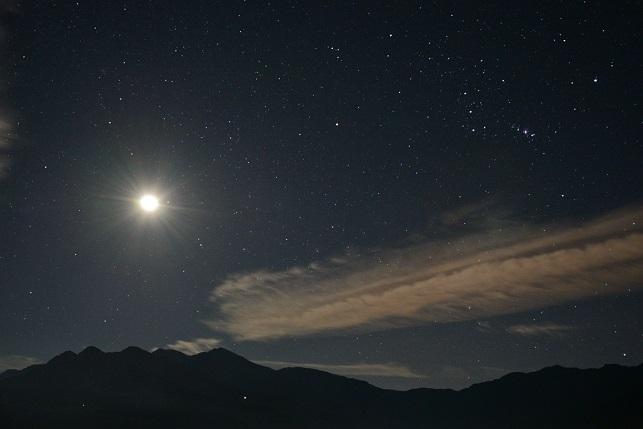 星と月の競演(4)