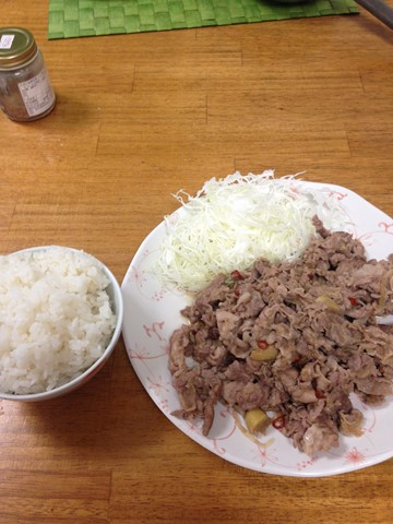山盛り生姜焼き (1) (コピー)