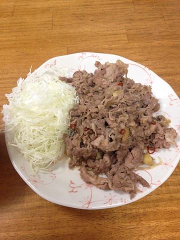 山盛り生姜焼き (2) (コピー)