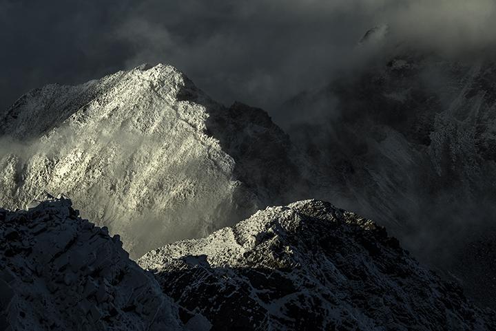 151013 新雪の稜線
