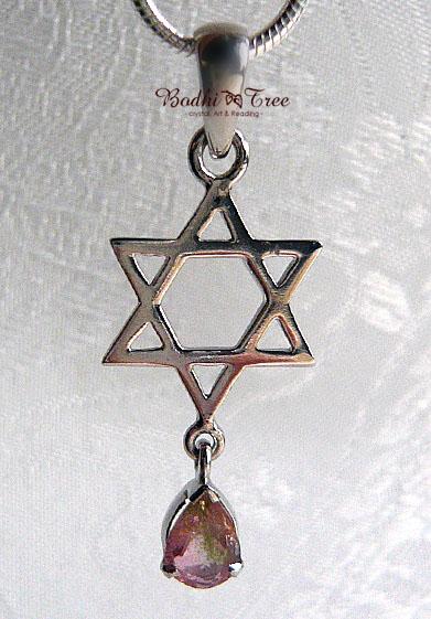 神聖幾何学六芒星&2カラ―トルマリン