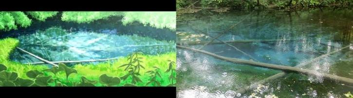 花物語神の子池