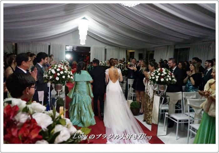 1-エリカさんの結婚式ー花嫁退場