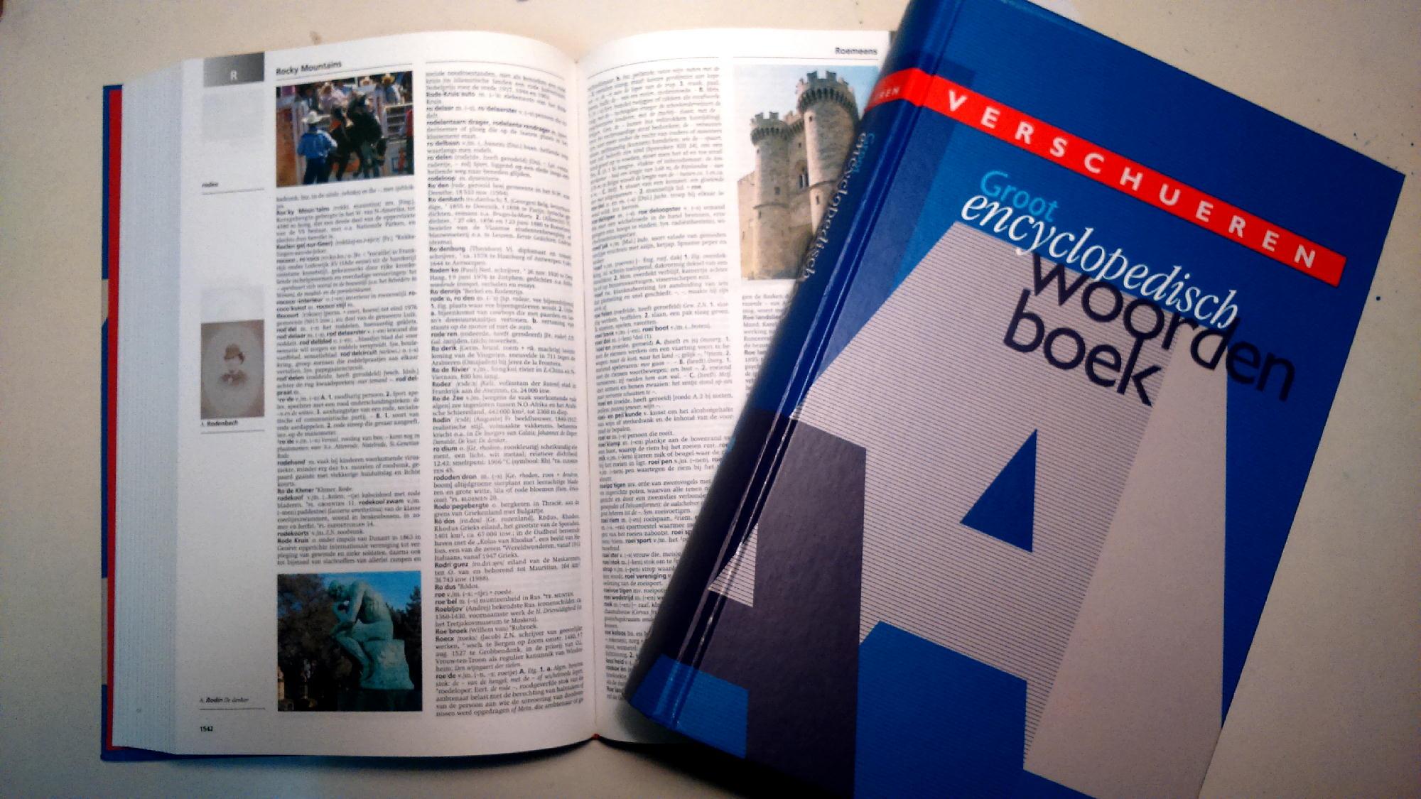 verschueren groot enclyclopedisch woordenboek