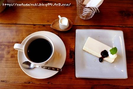 CAFE KICHI◇レアチーズケーキ&オリジナルブレンド