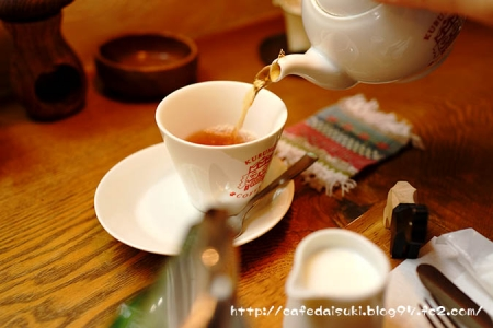クルミドコーヒー◇クルミドモーニング(朝の紅茶)