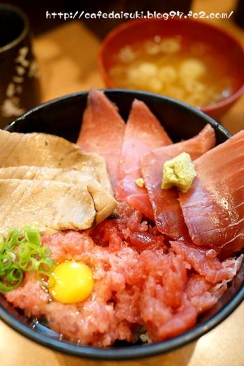 又こい家のまぐろづくし丼@東京都・築地場外市場