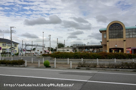 羽生駅西口ロータリー