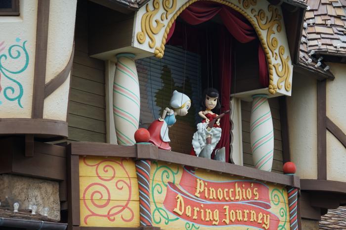 TDL 2015 ファンタジーランド ピノキオの大冒険
