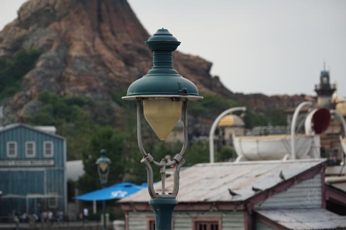 TDS ディズニーシー 2015 風景 アメフロ 波止場 ランプ