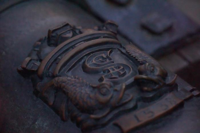 TDS ディズニーシー 2015 風景 フォートレス 冒険者学会紋章
