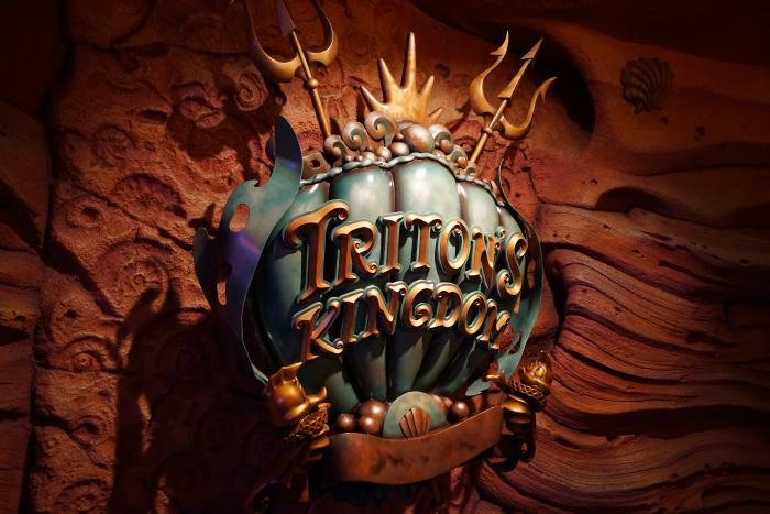 TDS 2015 マーメードラグーンシアター キング・トリトン王国紋章