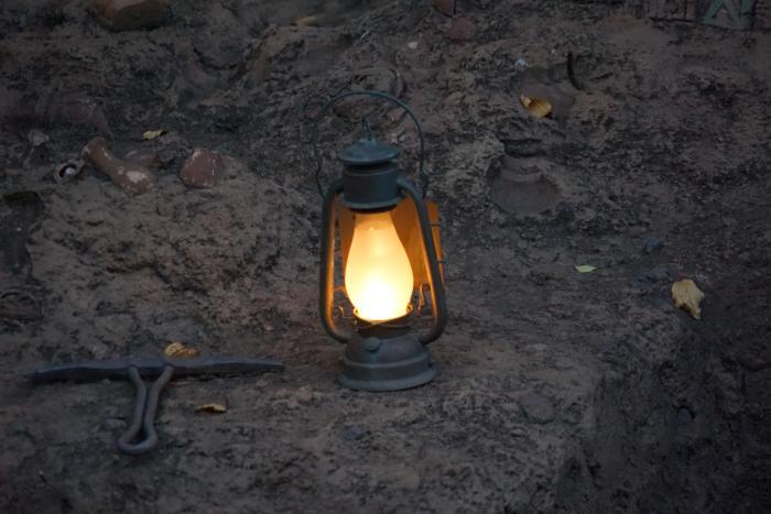 TDS 2015 ユカタンベースキャンプ 発掘現場