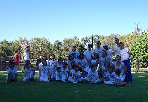 Ancestrais Capoeira Perthのみなさんと 2015元旦