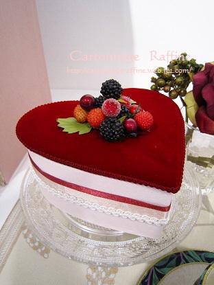 作品展ティーセットケーキ