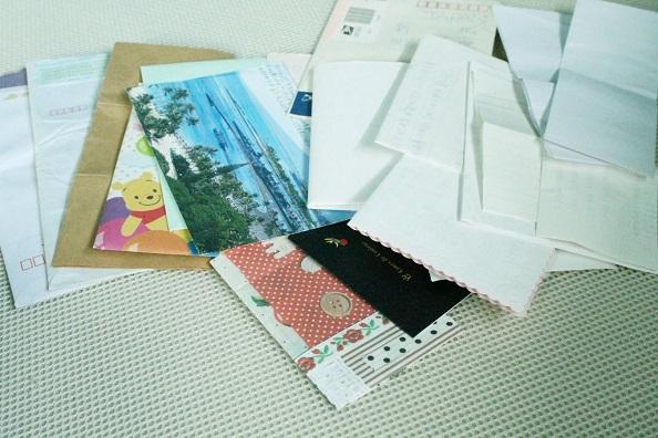 201510月納戸の掃除 手紙