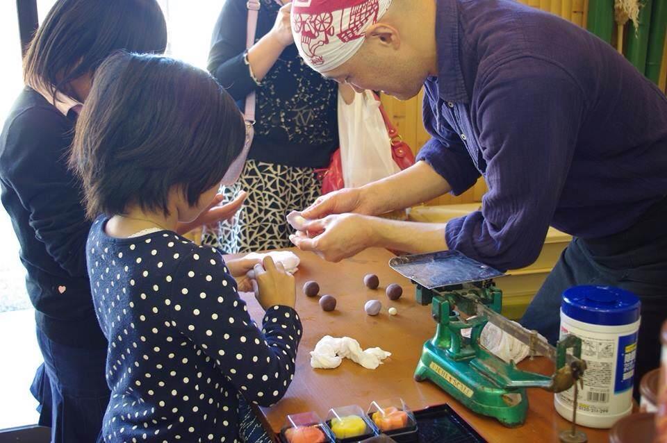 IMG_5817上生菓子体験 子供たちと B枠分