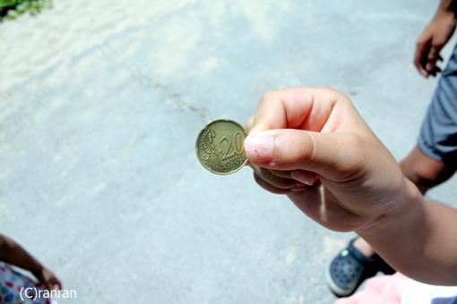 コインみつけた