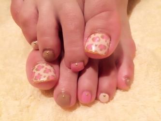 ヒョウ柄foot
