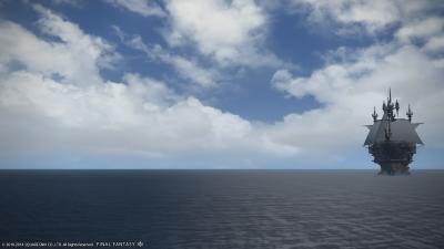 海と空ー!