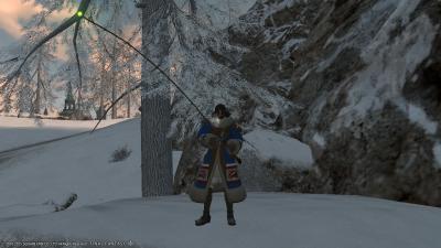 冬服で釣り!