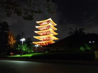 夜の浅草寺3