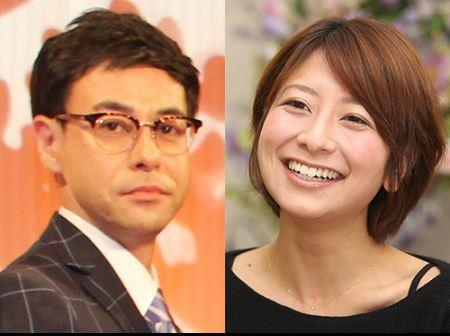 結婚を発表した大塚千弘と鈴木浩介